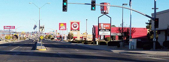 Kingman Arizona Photos Stockton Hill Road